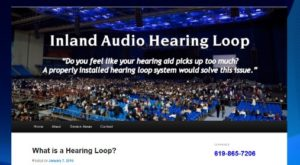 Inland Audio Hearing Loop Installation