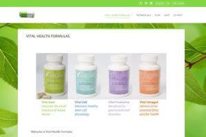 VItal Health Formulas - Health Products